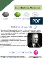 trabalho modelos atomicos