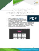 Anexo 1. Instructivo para el uso de Padlet  - Tarea 2 - Indagar sobre diferentes fuentes de energías alternativas.pdf