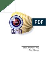 Clam AntiVirus 0.93 User Manual