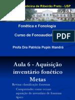 aula  6  aquisição inventario fonético 2018