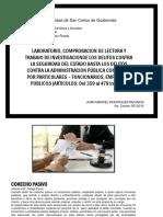 TRABAJO DE INVESTIGACIONDE LOS DELITOS CONTRA LA SEGURIDAD DEL ESTADO JUAN MANUEL RODRIGUEZ
