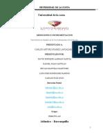 CARACTERISTICAS DINAMICAS DE LOS IINSTRUMENTOS DE MEDICIÓN. TRABAJO 1 SEGUNDO CORTE