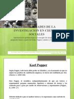GENERALIDADES DE LA INVESTIGACION EN CIENCIAS SOCIALES - clase 1