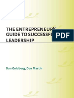 Entrepreneur guide to Leadership