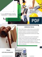 Unidad i legislación aplicable a la empresa constructora