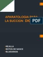 APARATO PARA SUCCION DIGITAL