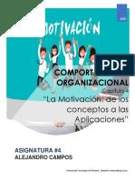 ASIGNACION 4 - COMPORTAMIENTO ORGANIZACIONAL