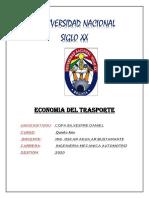 CALCULO DE  COSTO HORARIO TOTAL