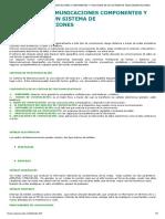 5. REDES Y TELECOMUNICACIONES COMPONENTES Y FUNCIONES DE UN SISTEMA DE TELECOMUNICACIONES