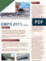 EMPS 2011 Newsletter #1