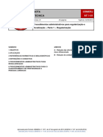NT 1-01 - Procedimentos administrativos para regularização e fiscalização - Parte 1  (Regularização).pdf