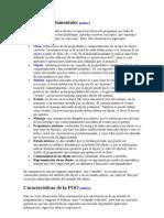 Conceptos fundamentales de la POO