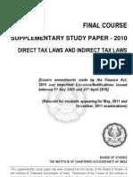 Dt Amendments May, 2011