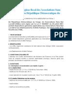 Du statut et régime fiscal des Associations Sans But Lucratif en République Démocratique du Congo