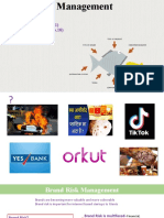 Brand Risk Management
