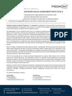 Piedmont Lithium Deal