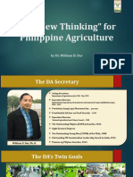 1. The New Thinking for Philippine Agriculture