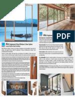 MIXX wood windows  brouchure