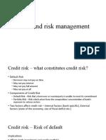 Risks and Risk Management