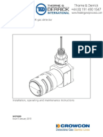 Crowcon-IREX-Fixed-Gas-Detector-User-Manual