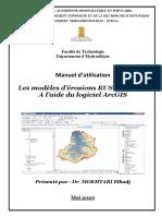 Manuel partie 1:Les modèles d'érosions RUSLE et EPM A l'aide du logiciel ArcGIS