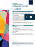 Oup Focus Managing Online Learning