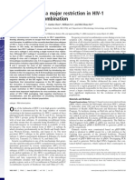 2005--Identification of a major restriction in HIV-1 Intersubtype recombination