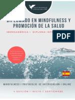 DIPLOMADO EN MINDFULNESS Y PROMOCIÓN DE LA SALUD_4 EDICIÓN