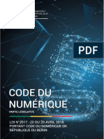 Code du Numerique au Benin