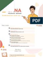 Health Insurance Plans in India | SANA