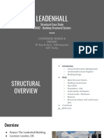 Leadenhall structural case study