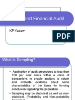 Sampling and Financial Audit