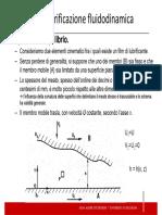 Lubrificazione fluidodinamica