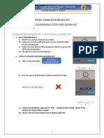 RTMNU Online Exam App Download Instructions