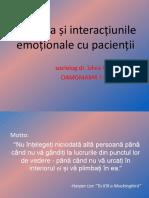 Empatia si interactiunile cu pacientii (1)