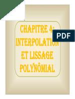 Chapitre 4 - Interpolation et lissage polynomial-1