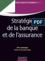 Stratégie de la banque et de l assurance