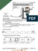 Cours - Technologie  Les fonctions éléctroniques - 1ère AS  (2008-2009) Mr AKREMIBECHIR