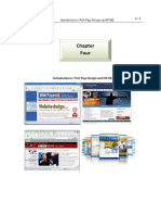 chapter-Web page design