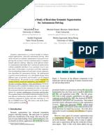 A Comparative Study of Real-time Semantic Segmentation for Autonomous Driving