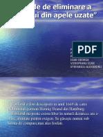 Metode de eliminare a fosforului din apele