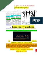 CLASE 3. ARTE Y CULTURA. 1° Y 2° SECUNDARIA