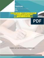 PROCESSOS GERENCIAIS 3 E 4.pdf PRODUÇÃO TEXTUAL INTERDISCIPLINAR INDIVIDUAL – PTI PRODUÇÃO TEXTUAL INTERDISCIPLINARCSTem Processos Gerenciais INDIVIDUAL – PTI CURSO