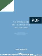 Constitución de la provincia de Mendoza