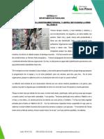 Manejo de la incertidumbre frente al COVID-19 2020 Dpto. Psicología