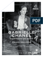 Exposition Gabrielle Chanel. Manifeste de mode au Palais Galliera, Paris
