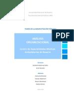 Análisis Organizacional del Centro de Especialidades Médicas Ambulatorias de Rosario (CEMAR)