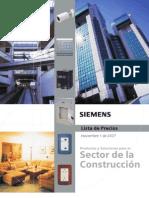 SIEMENS-LISTA-DE-PRECIOS-2007-CONSTRUCCION