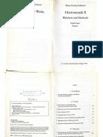 Gadamer - Sprache Und Verstehen (1)