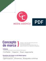 manual de marca GC media Agency
